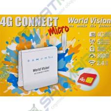 3G/4G роутер WORLD VISION 4G CONNECT MICRO