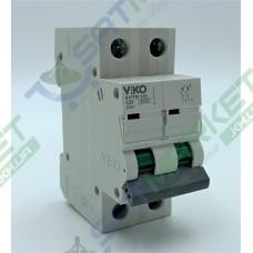 Автоматический выключатель (2p, 25А) Viko 4VTB-2C25