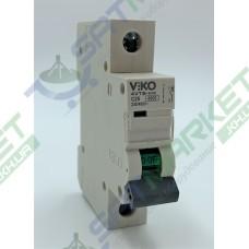 Автоматический выключатель Viko 4VTB-1C25 (1p, 25А)