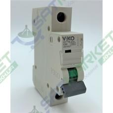 Автоматический выключатель Viko 4VTB-1C32 (1p, 32А)