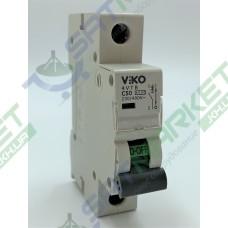 Автоматический выключатель (1p, 50А) Viko 4VTB-1C50