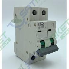 Автоматический выключатель (2p, 10А) Viko 4VTB-2C10