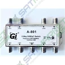 DiSEqC 8x1 Gi A-801