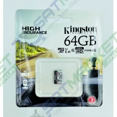 Карта пам'яті micro SDCE KINGSTON 64GB High Endurance R95/W30MB/s Class 10