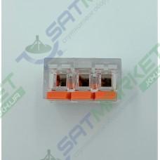 Клеммы быстрого монтажа PCT-413 3-pin