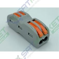 Клеммы быстрого монтажа проходная PCT-2122 2-pin