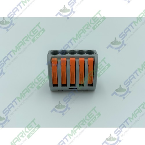 Клеммы быстрого монтажа PCT-215 5-pin