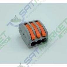 Клеммы быстрого монтажа PCT-213 3-pin