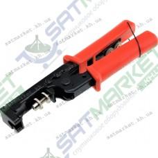 Инструмент DL-807F для обжима разъемов F, BNC, RCA ,RG56,RG6 (501021)