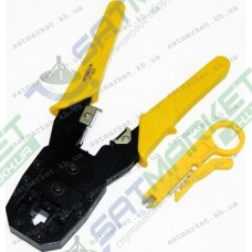 Инструмент R'Deer RT-930A для обжима 8P8C (RJ-45), 6P6C (RJ-12), 6P4C (RJ-11), 4P4C, 4P2C (12-0348)