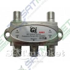 DiSEqC 4x1 Gi A401