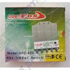 DiSEqC 4x1 OpenFox OFD-40D в кожухе