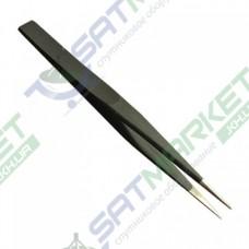 Пинцет ZD-156A антистатический (125 мм)