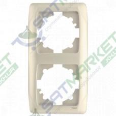 Рамка 2-я вертикальная крем ViKO Carmen 90572002