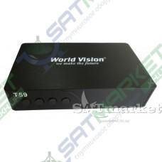 World Vision T59 цифровой эфирный DVB-T2 ресивер