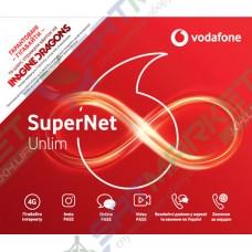 Стартовий пакет VODAFONE Super net 4G Unlim