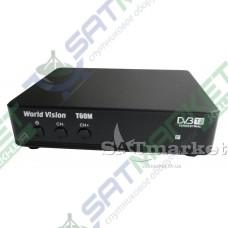 World Vision T60M цифровой эфирный DVB-T2 ресивер