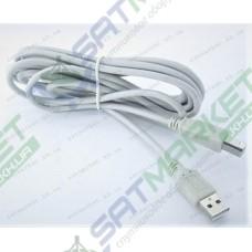 Кабель USB - USB (A-A) v 2.0 2м (5-0721)