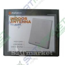 Антенна T2 комнатная ALPHABOX AL-005