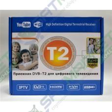 T2 U-006 Metal цифровой эфирный DVB-T2 ресивер