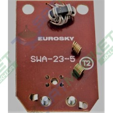 Антенный усилитель Eurosky SWA- 23-5 (23dB 5v)