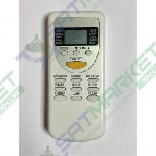 Пульт ДУ універсальний для кондиціонеру QUNDA KT-CG4E / CHIGO / DEKKER / HPC / SENSEI