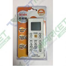 Пульт ДУ универсальный для кондиционера KT-9018 белый (4000 кодов)