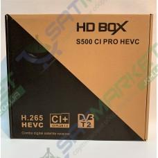 HD BOX S500 CI PRO Combo