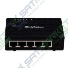 Сетевой SWITCH Alphabox AS105