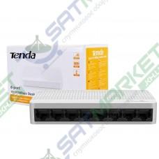 Сетевой SWITCH TENDA S108 (8-PORT 10/100Mbps)