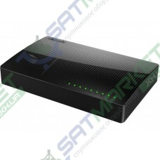 Сетевой SWITCH TENDA SG108 (8-PORT Gigabit Switch Black)