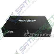 World Vision T59M цифровой эфирный DVB-T2 ресивер