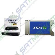 Комплект CAM модуль Xtra TV и Openbox AS4K CI
