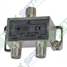Splitter 2-WAY Germany 5-1000MHZ, корпус металл