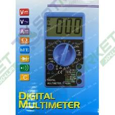 Цифровой мультиметр DT700D большой дисплей (со звуком) (12-1116)