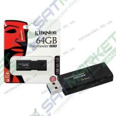 USB флеш KINGSTON DT100 G3 64GB USB 3.0
