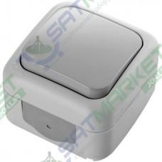Выключатель 1-кл. серый ViKO Palmiye 90555501